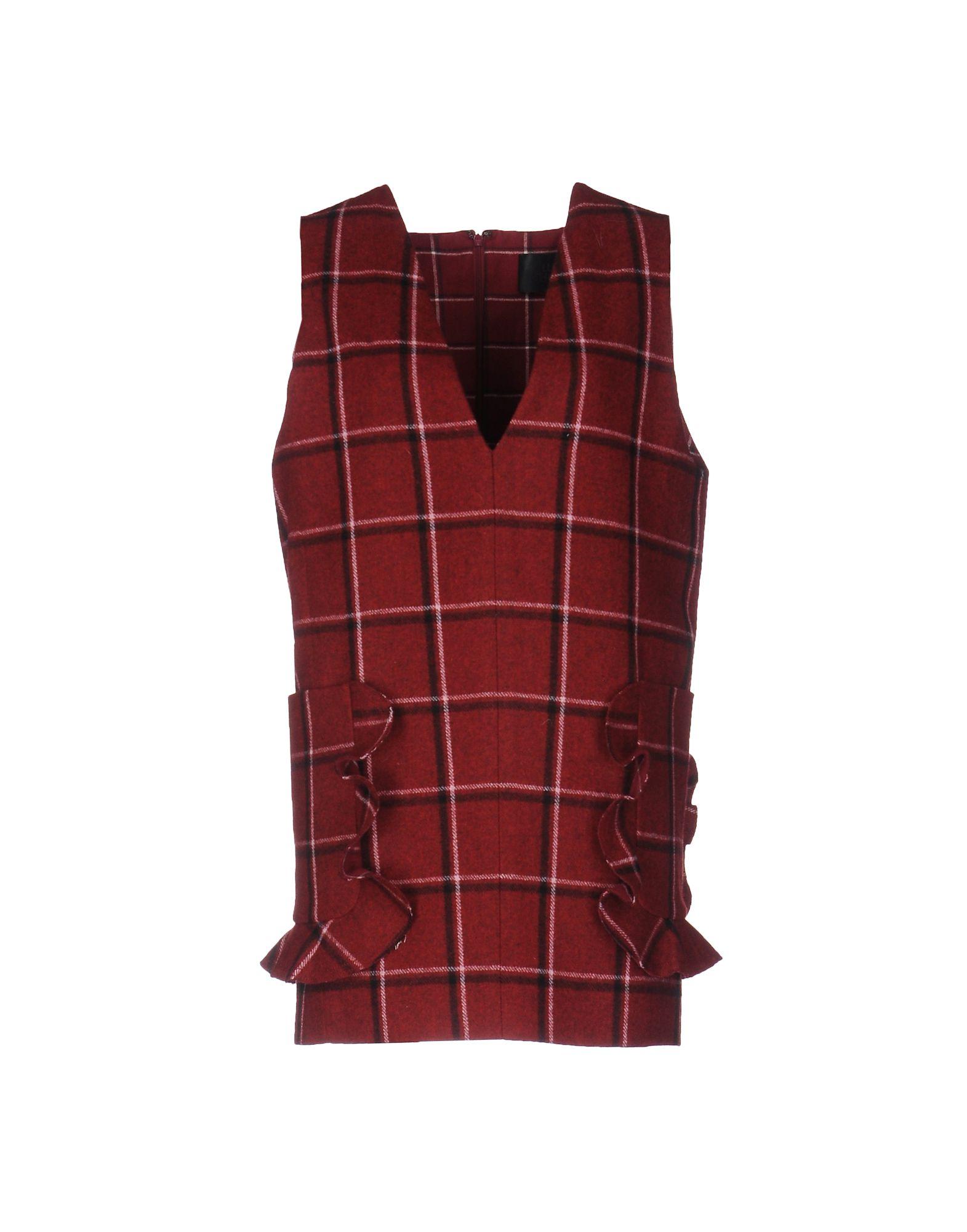 《期間限定セール中》LUCKY CHOUETTE レディース ミニワンピース&ドレス ボルドー 36 ウール 50% / ポリエステル 50%