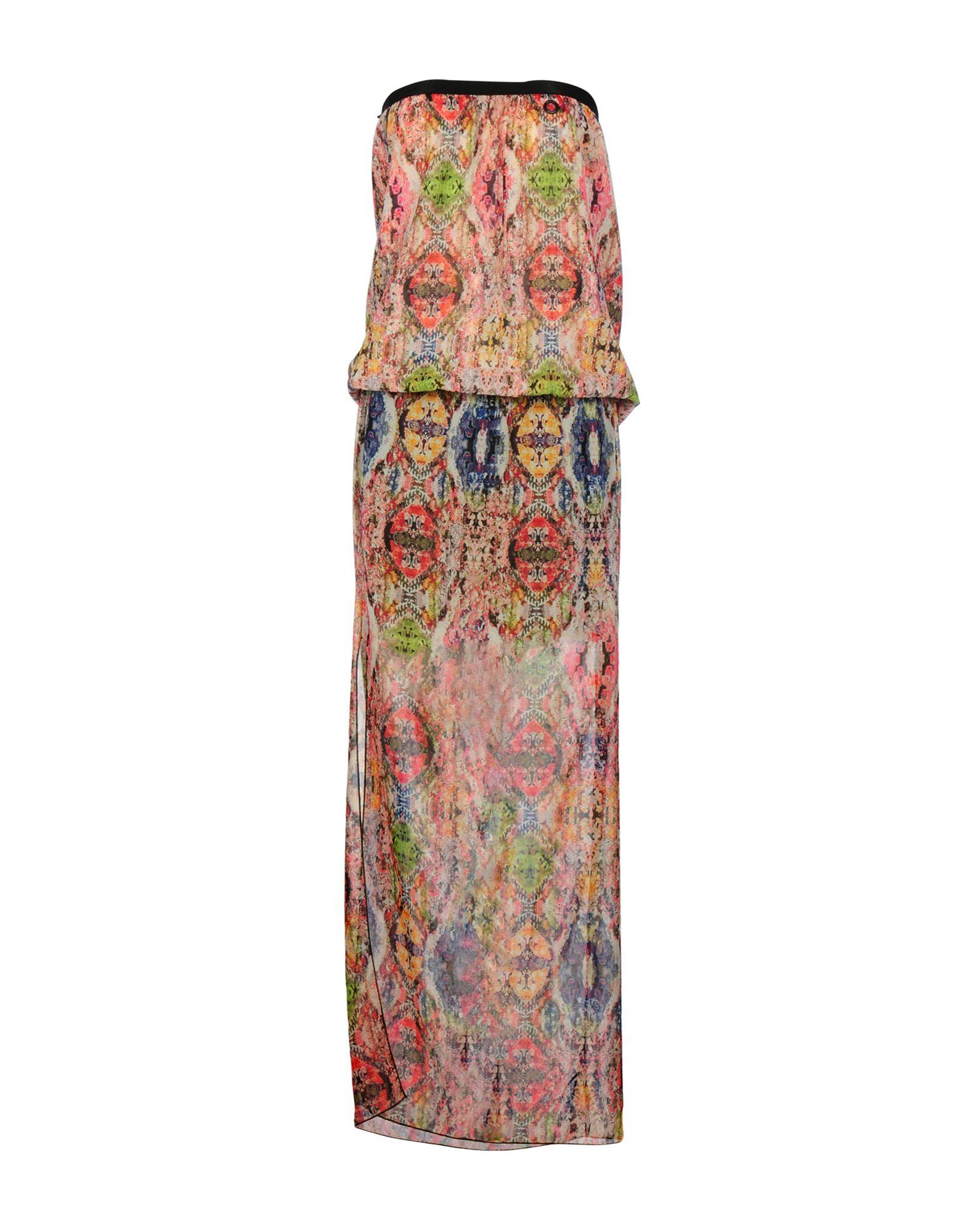 MANILA GRACE Длинное платье clio peppiatt длинное платье