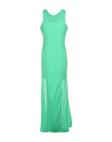 Купить Женское длинное платье  зеленого цвета