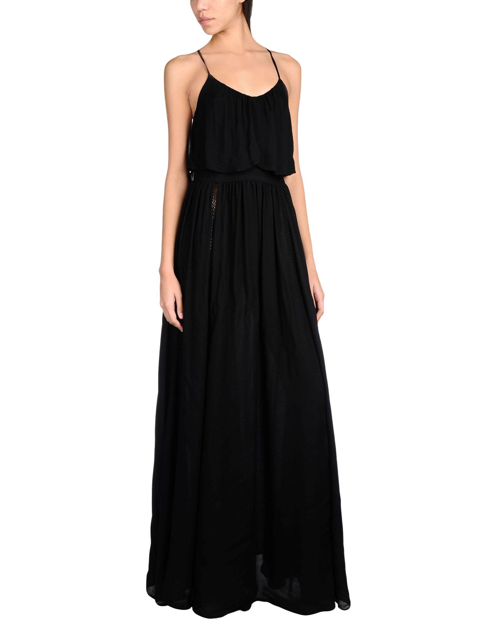 ELISABETTA FRANCHI Длинное платье платье