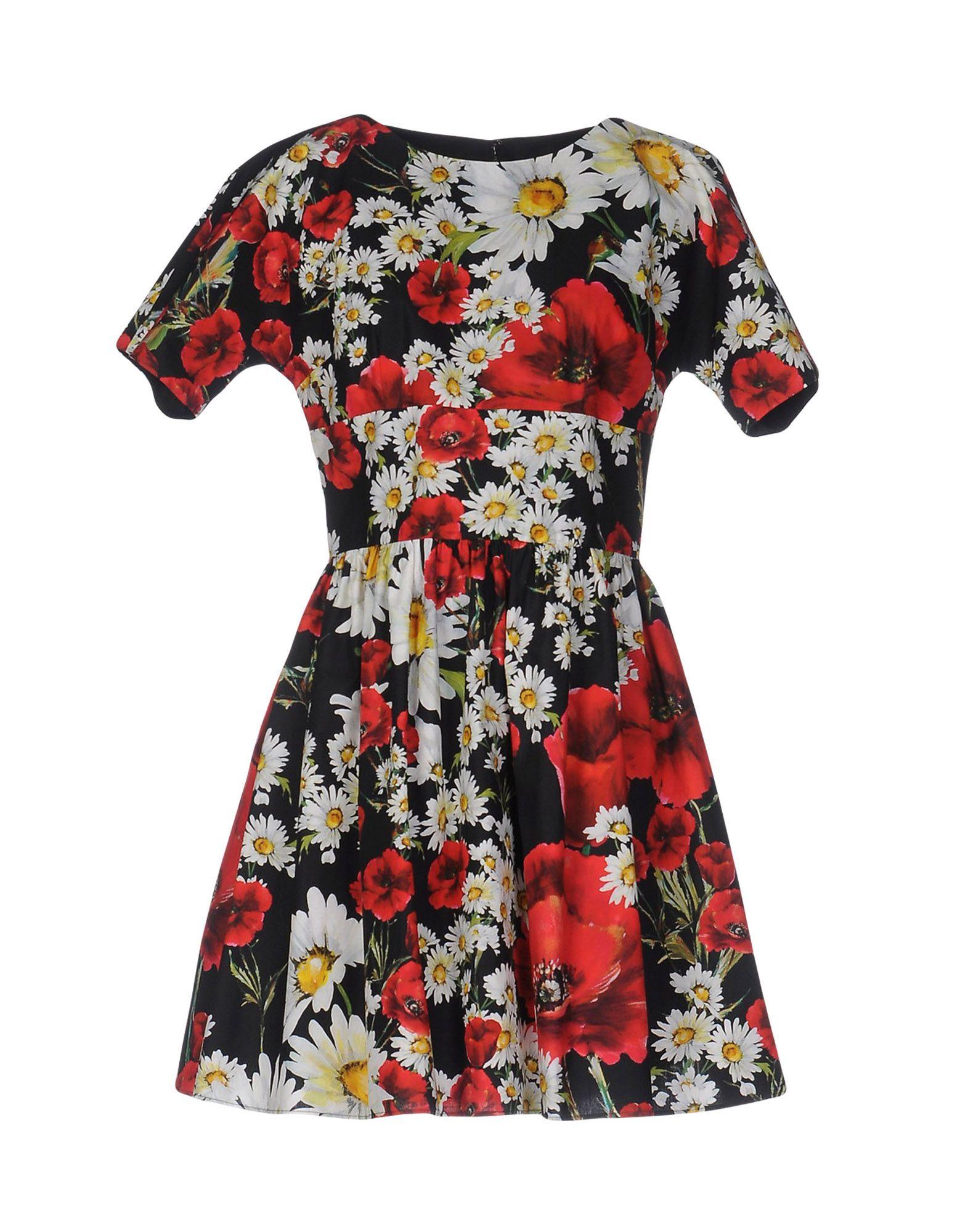 DOLCE & GABBANA Короткое платье petri короткое платье