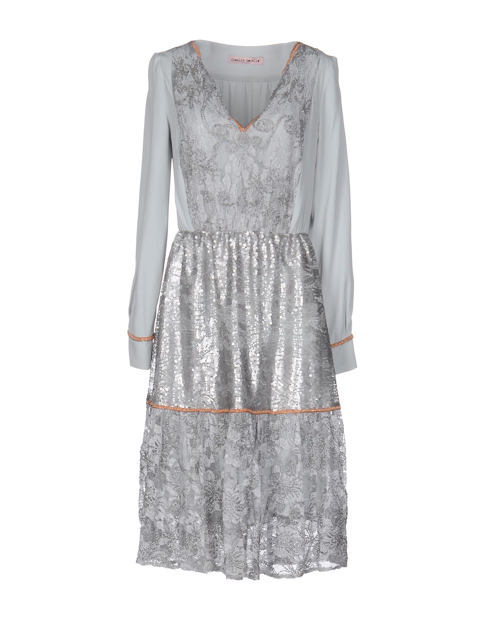 FRANKIE MORELLO Платье до колена frankie morello длинное платье