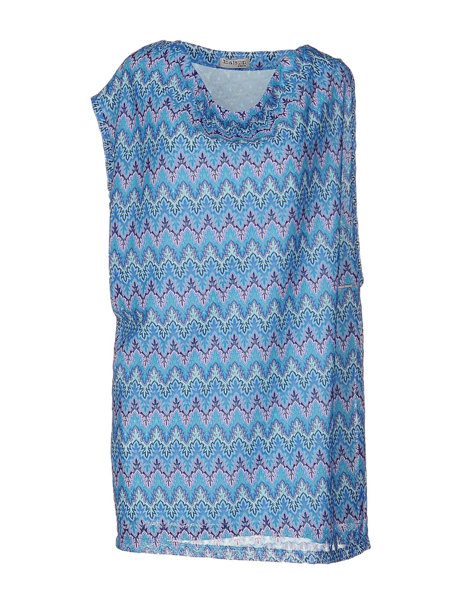 купить MAISON ESPIN Короткое платье по цене 6500 рублей