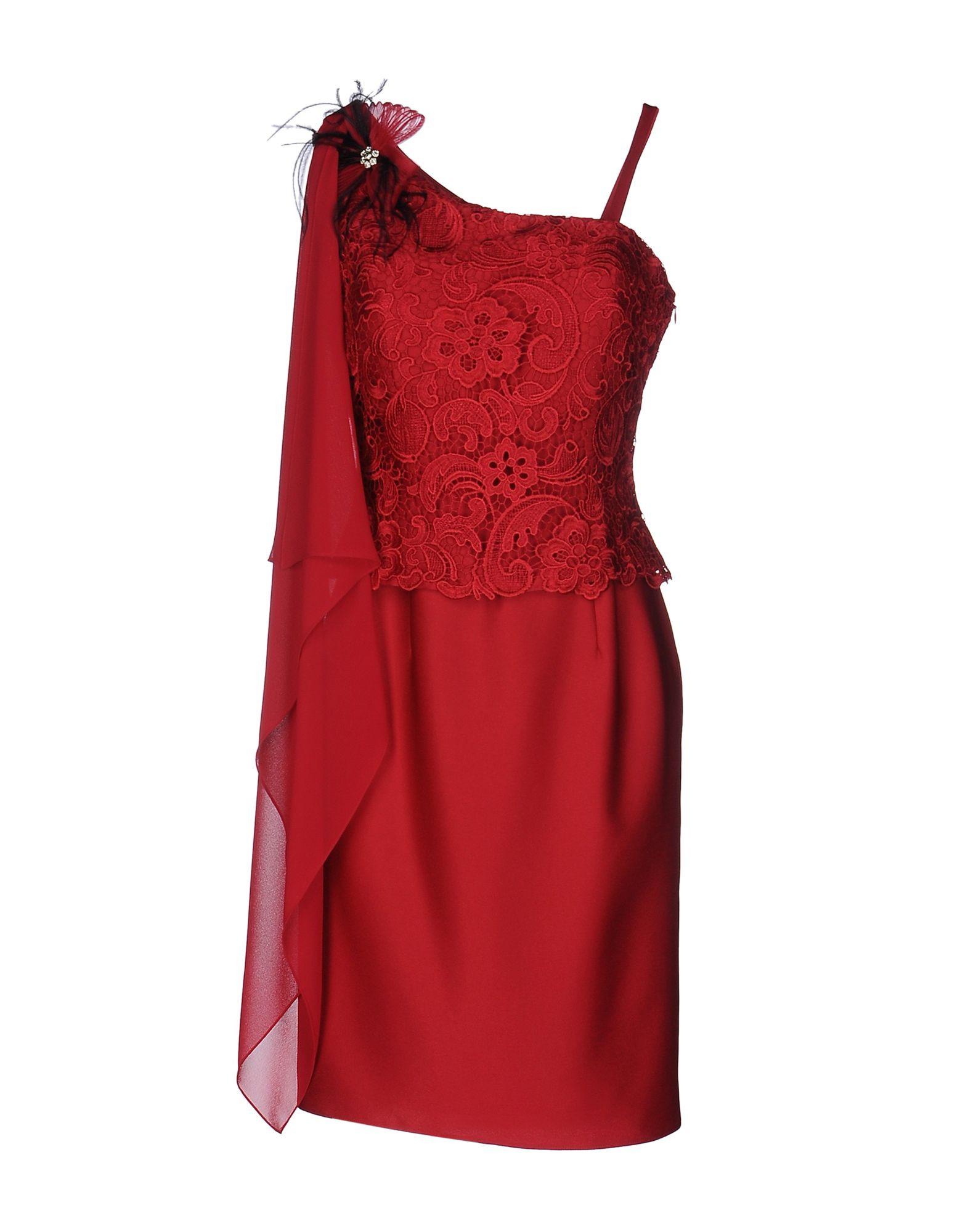 цена  PASTORE COUTURE Короткое платье  онлайн в 2017 году