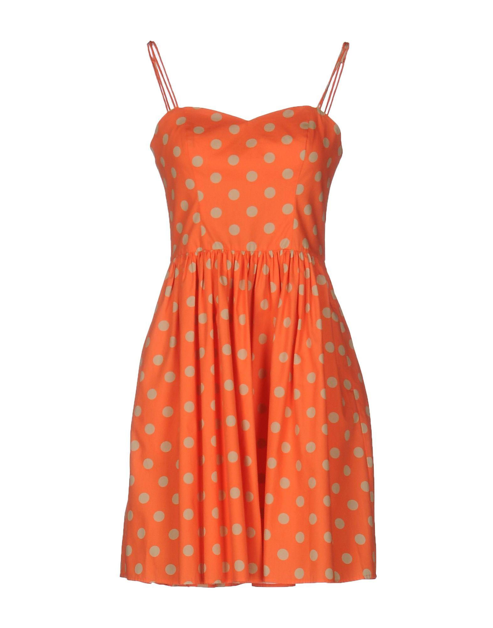 Фото JEREMY SCOTT Короткое платье. Купить с доставкой