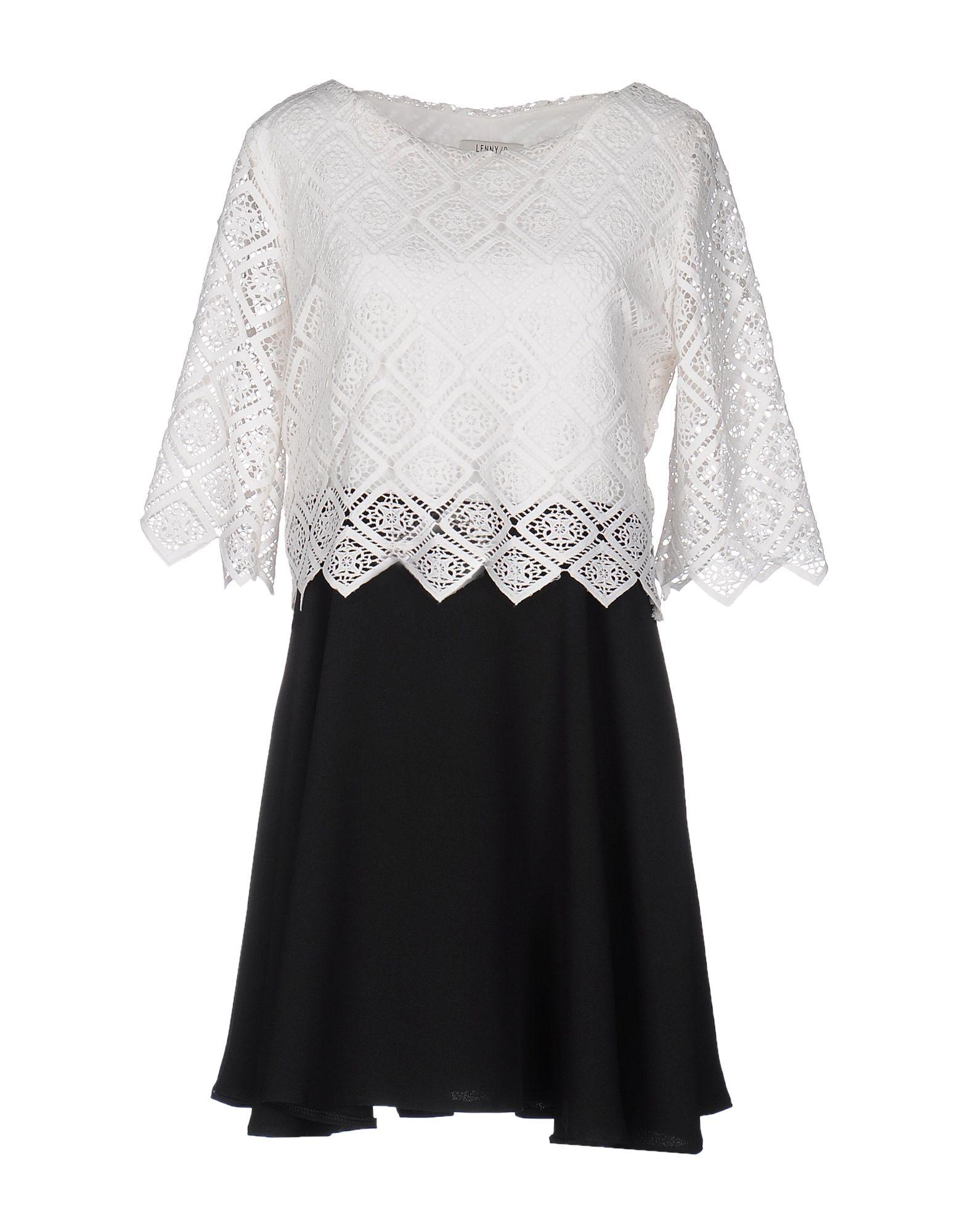 LENNY B. Короткое платье lenny b блузка