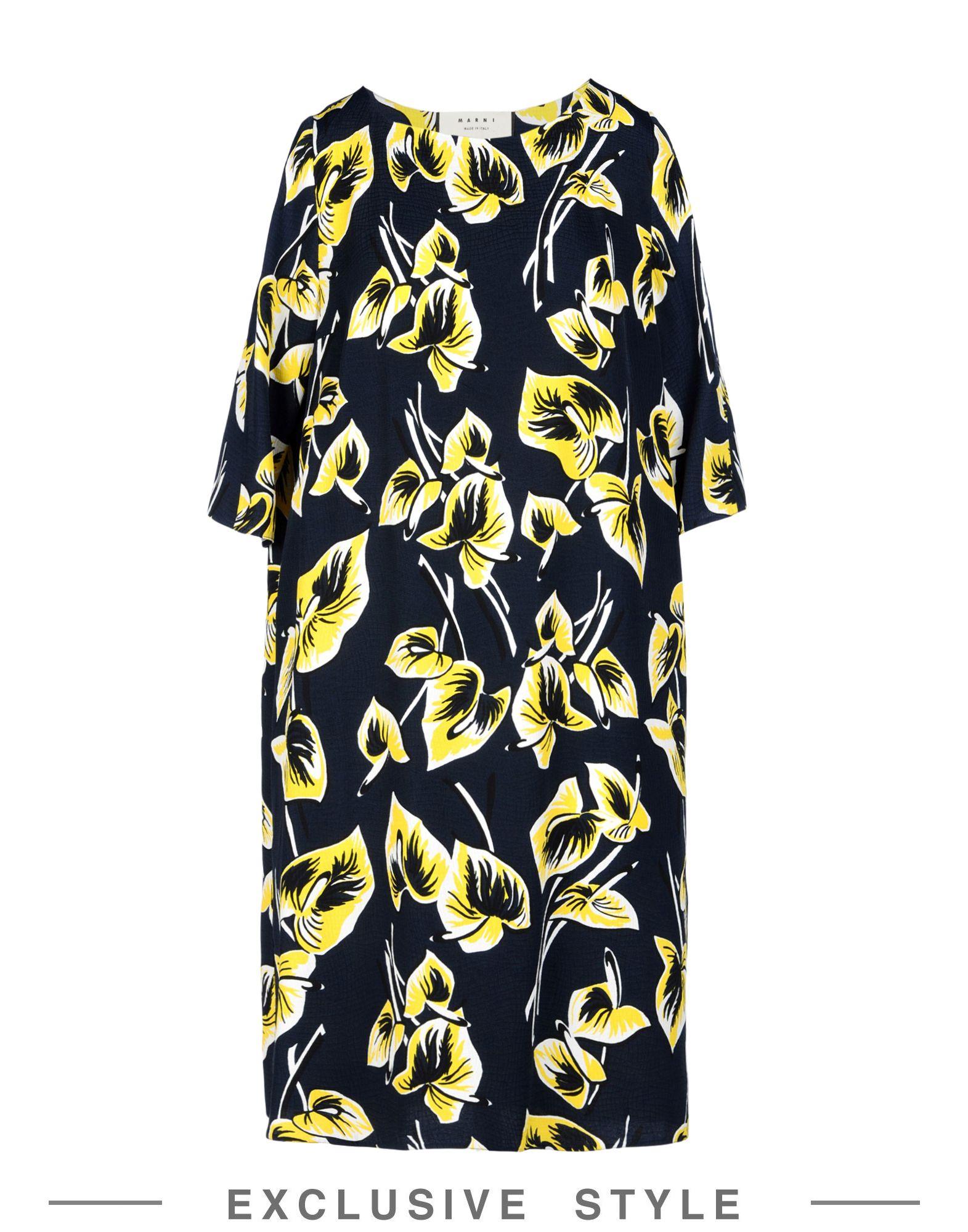 MARNI Короткое платье lisa corti короткое платье