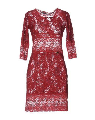 Купить Женское короткое платье MARTINAESSE кирпично-красного цвета