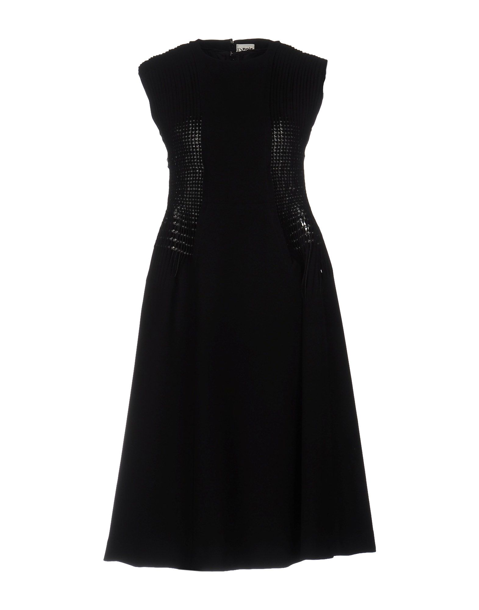 NOIR KEI NINOMIYA Платье до колена босоножки cafe noir ha935