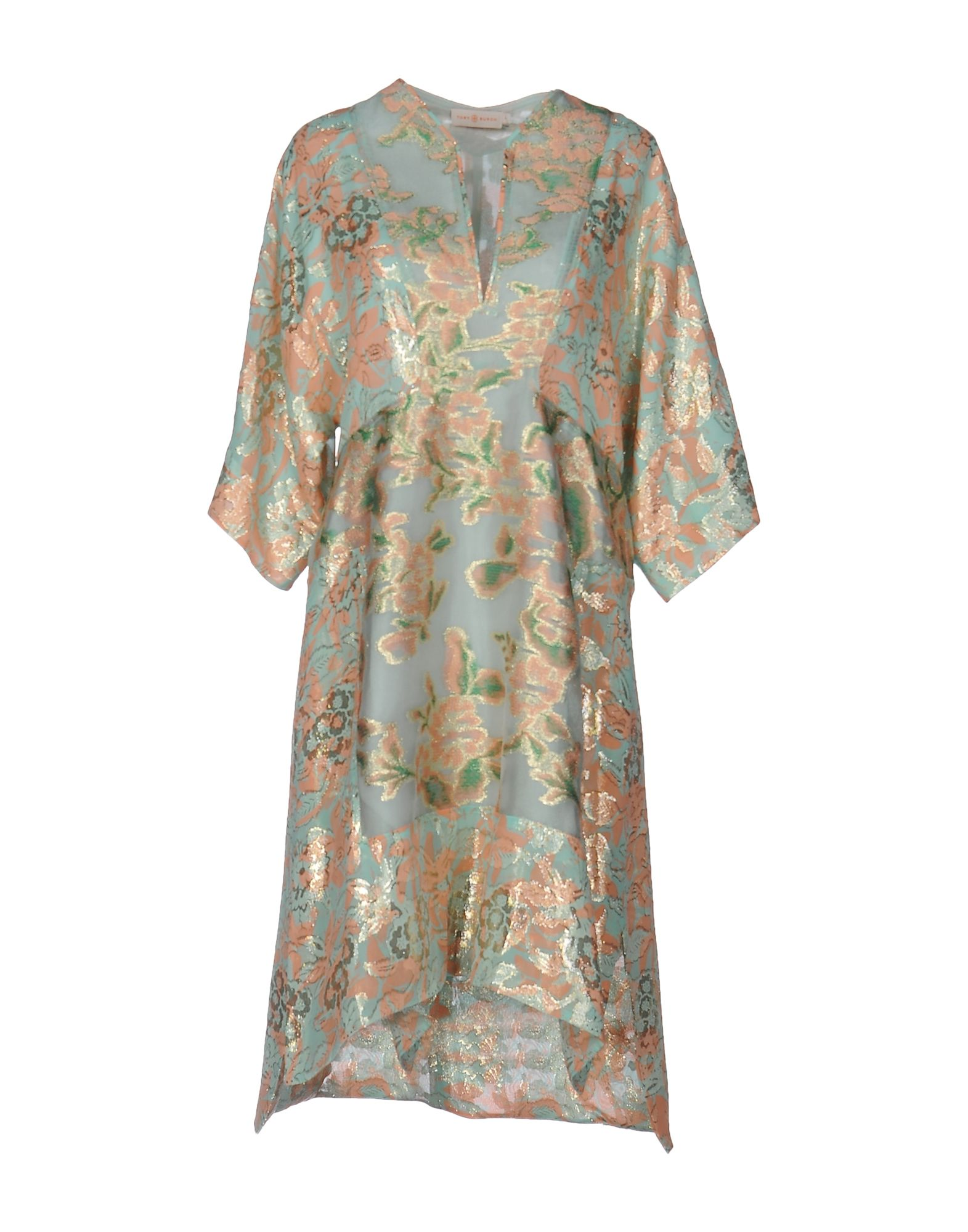 TORY BURCH Платье до колена tory burch платье со сборками