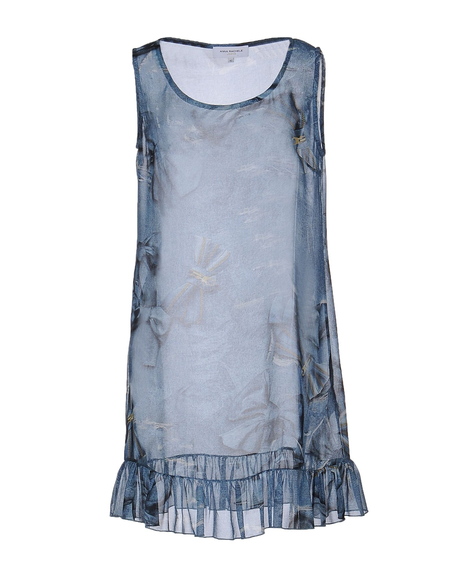 ANNA RACHELE JEANS COLLECTION Короткое платье anna rachele jeans collection накидка