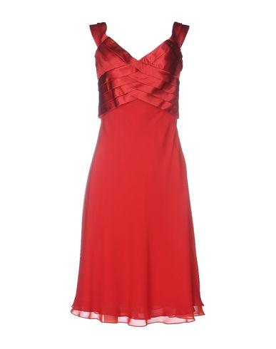Купить Платье до колена цвет пурпурный