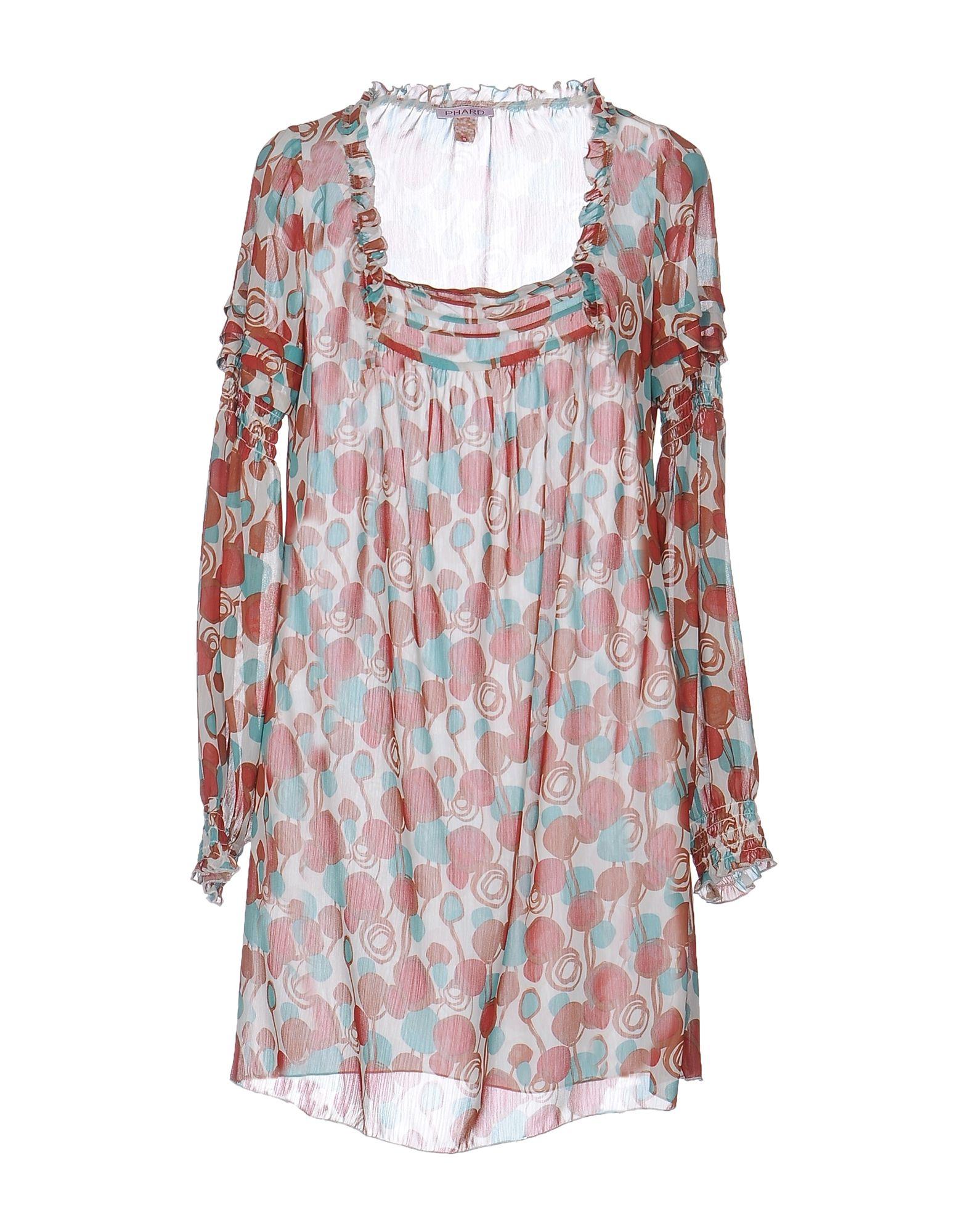 Фото PHARD Короткое платье. Купить с доставкой