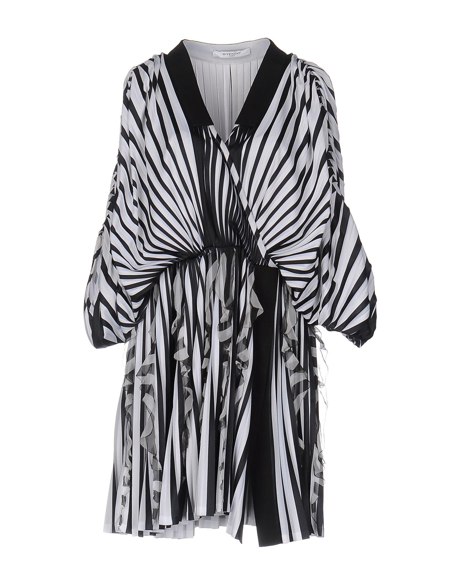 《送料無料》GIVENCHY レディース ミニワンピース&ドレス ブラック 36 ポリエステル 100% / シルク / コットン / アセテート