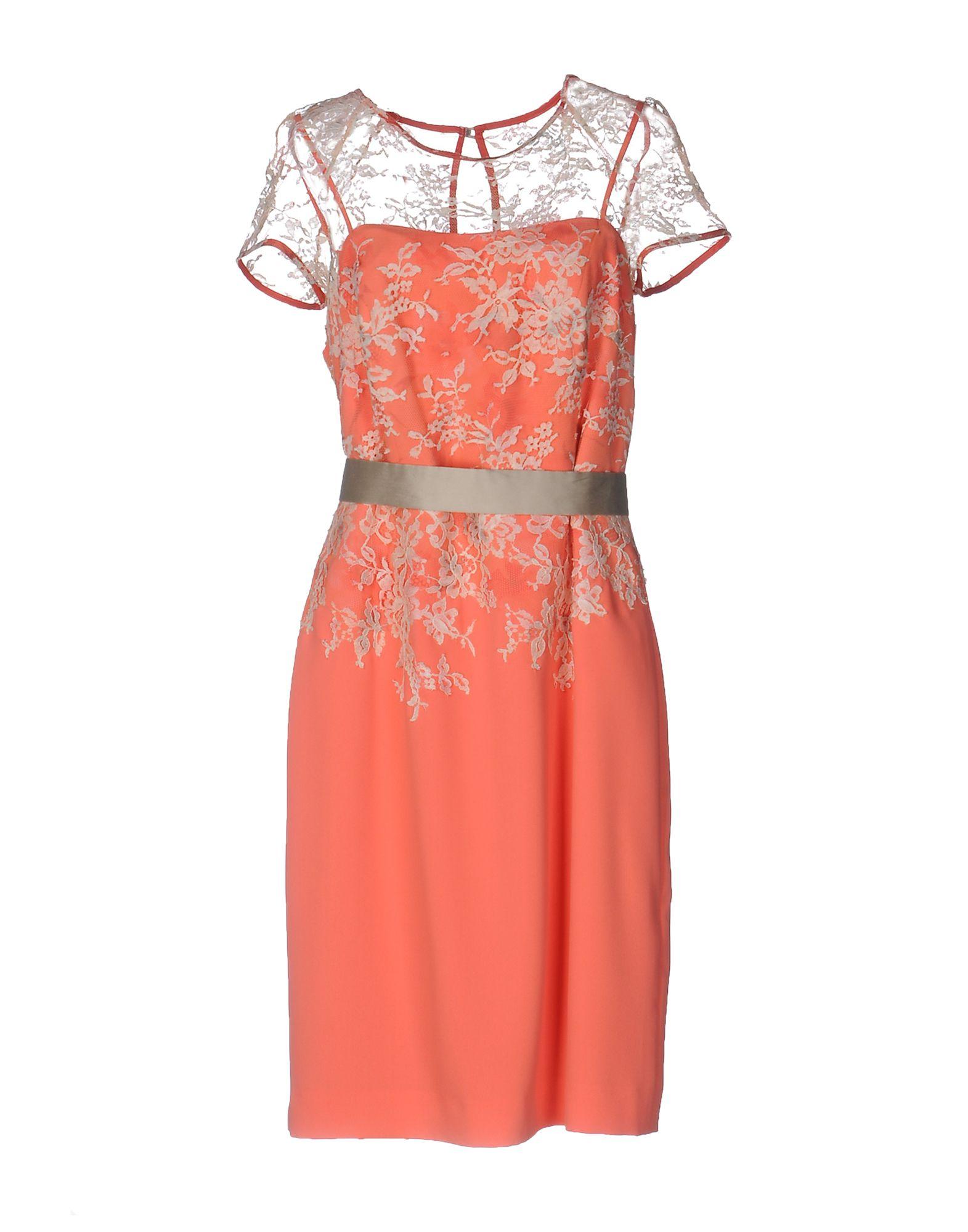 LINEA RAFFAELLI Платье до колена платье prima linea цвет красный белый