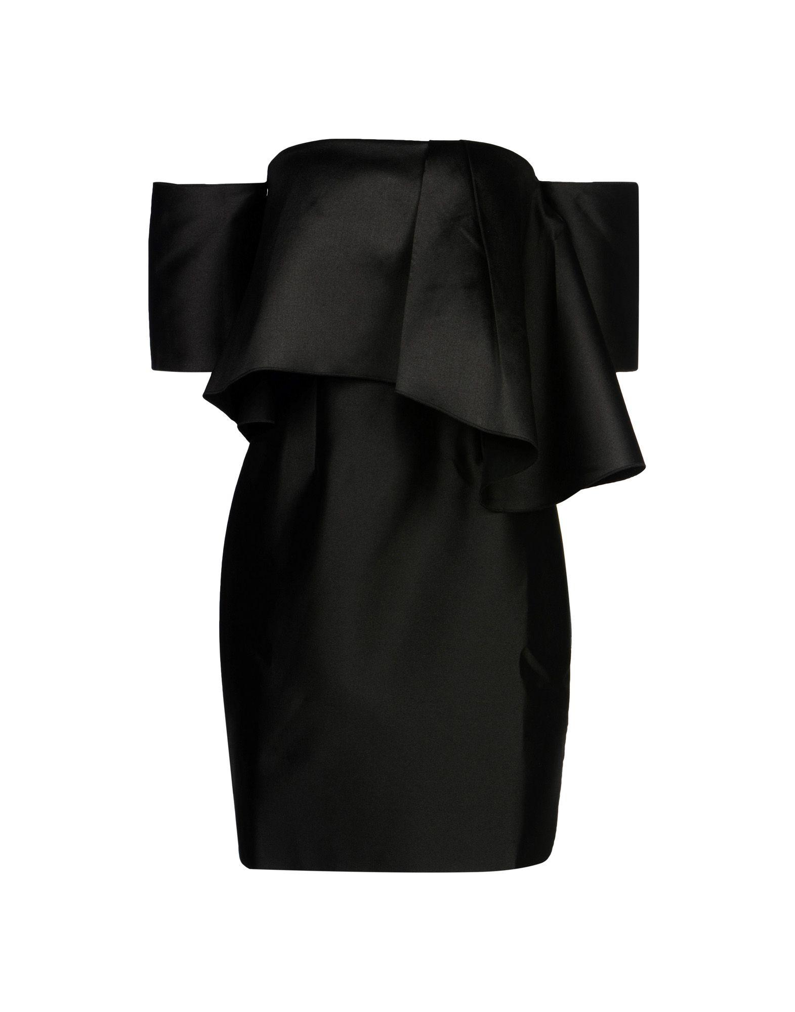 IRIS & INK Damen Kurzes Kleid Farbe Schwarz Größe 5