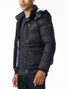 Armani exchange black puffer jacket
