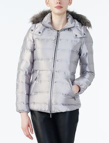 ARMANI EXCHANGE HOODED QUILTED PUFFER JACKET Puffer D f