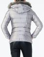 ARMANI EXCHANGE HOODED QUILTED PUFFER JACKET PUFFER JACKET D r