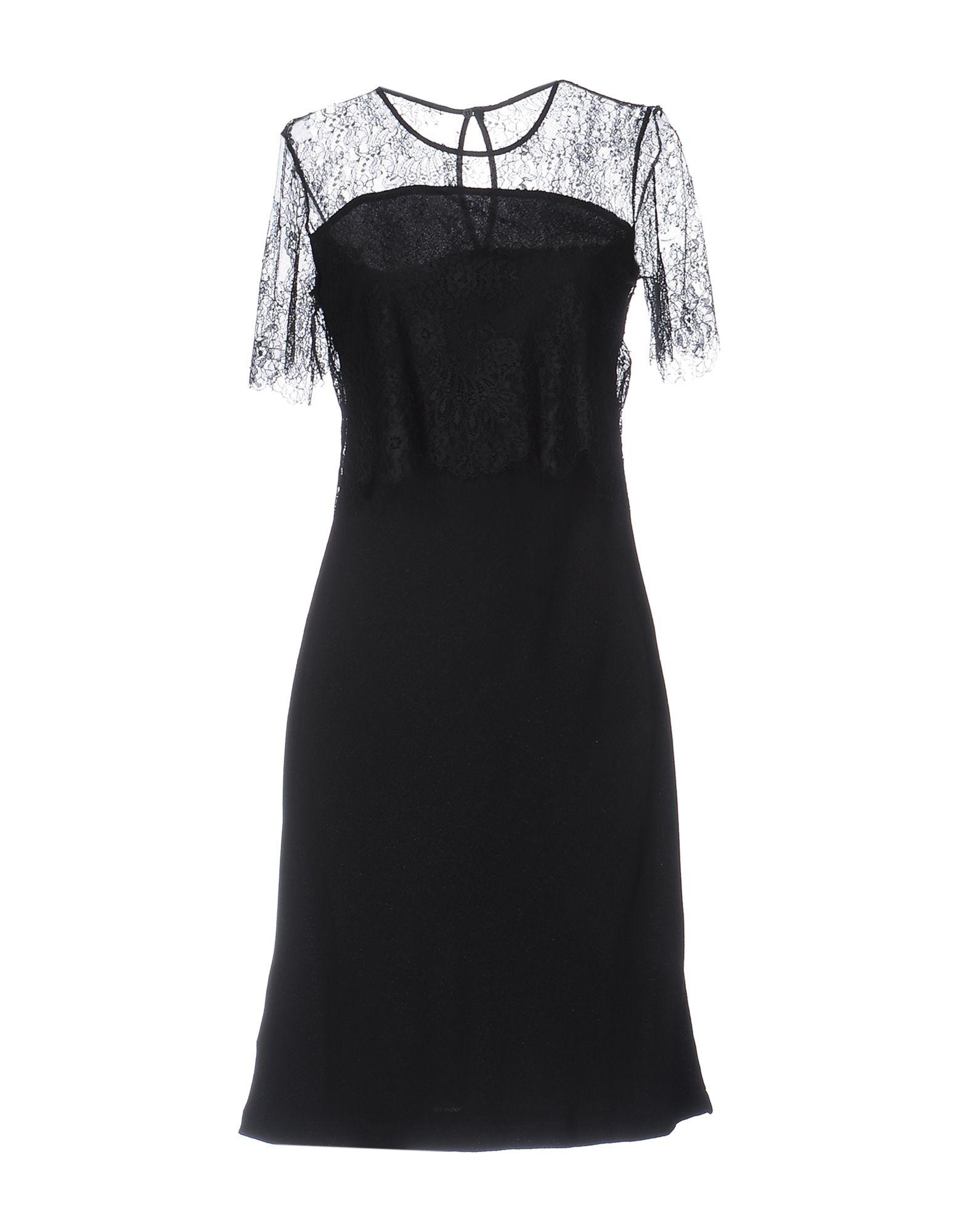 цена PINKO BLACK Платье до колена онлайн в 2017 году