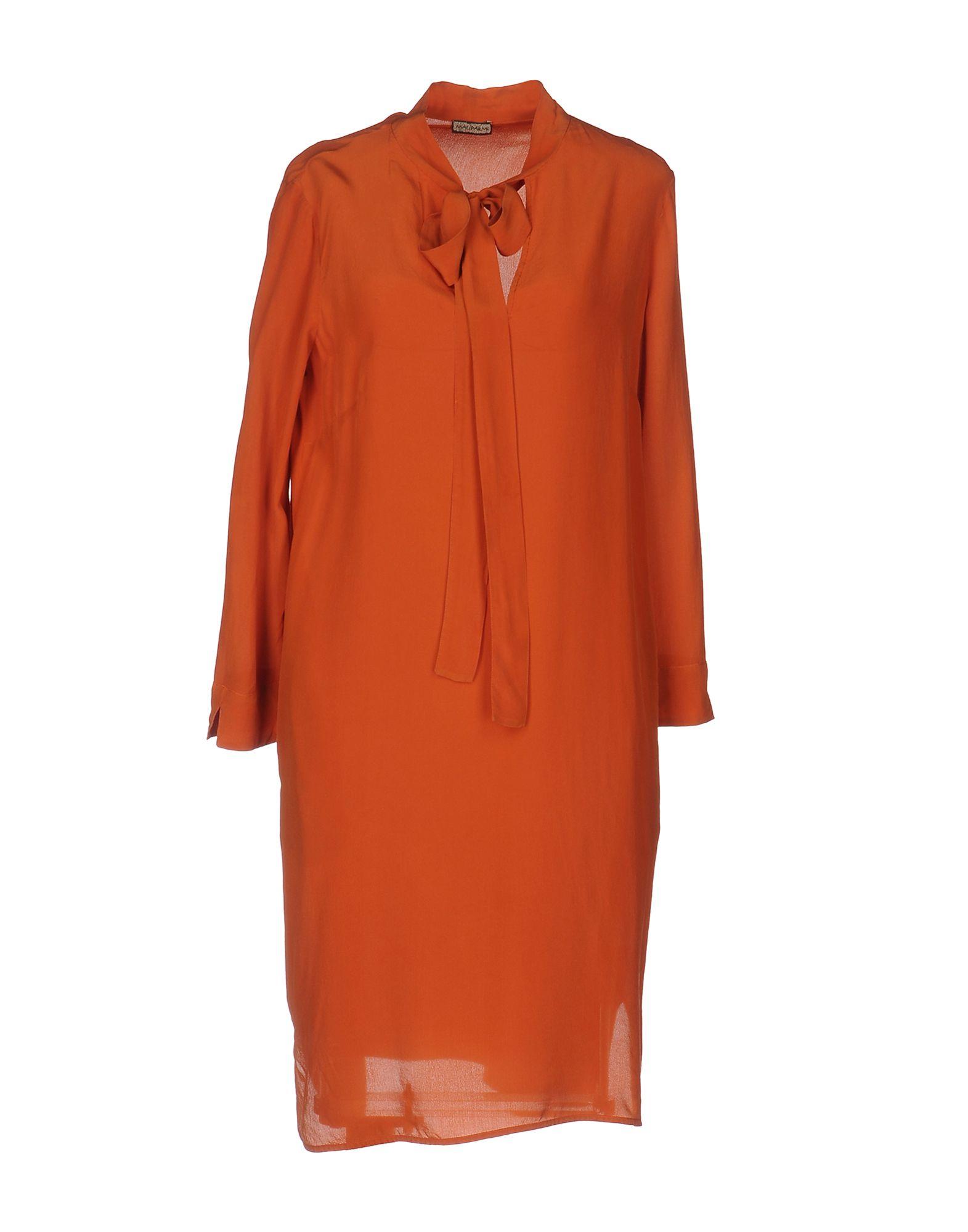 MALÌPARMI Короткое платье платье рубашка fox yulia sway платье рубашка fox