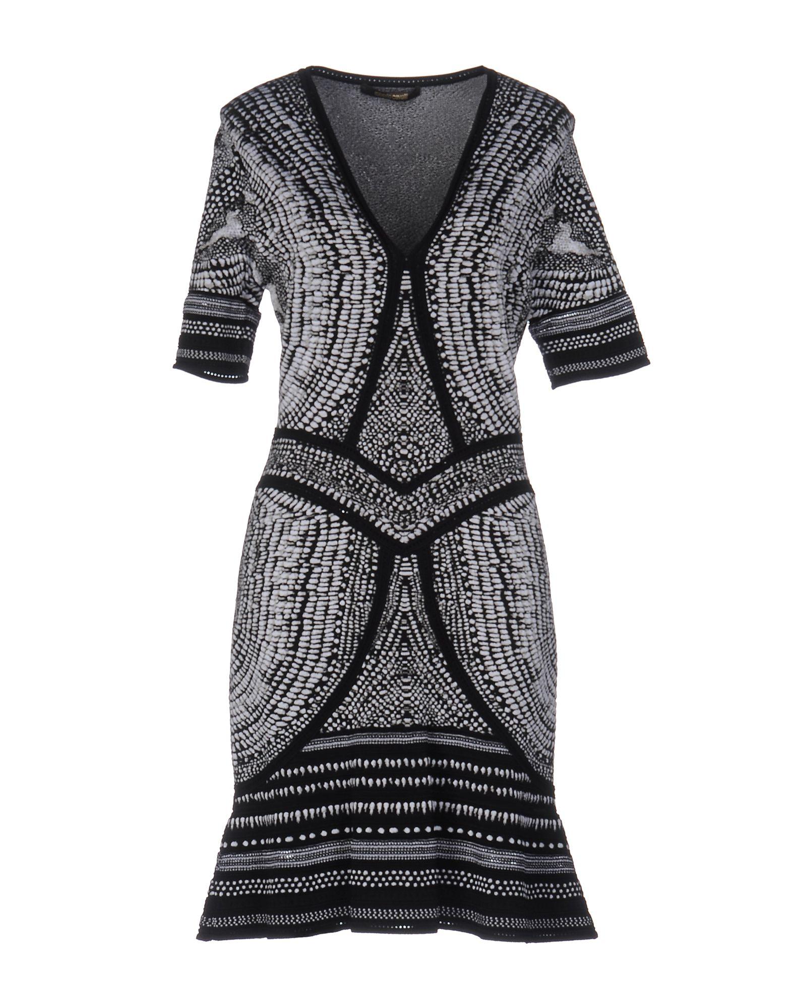 купить ROBERTO CAVALLI Короткое платье по цене 47350 рублей