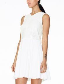 ARMANI EXCHANGE JACQUARD FIT-AND-FLARE Mini dress D d