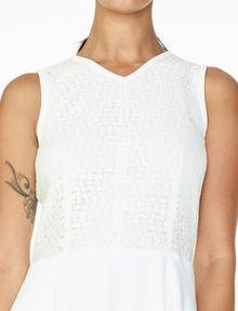 ARMANI EXCHANGE JACQUARD FIT-AND-FLARE Mini dress D e