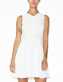 ARMANI EXCHANGE JACQUARD FIT-AND-FLARE Mini dress D f