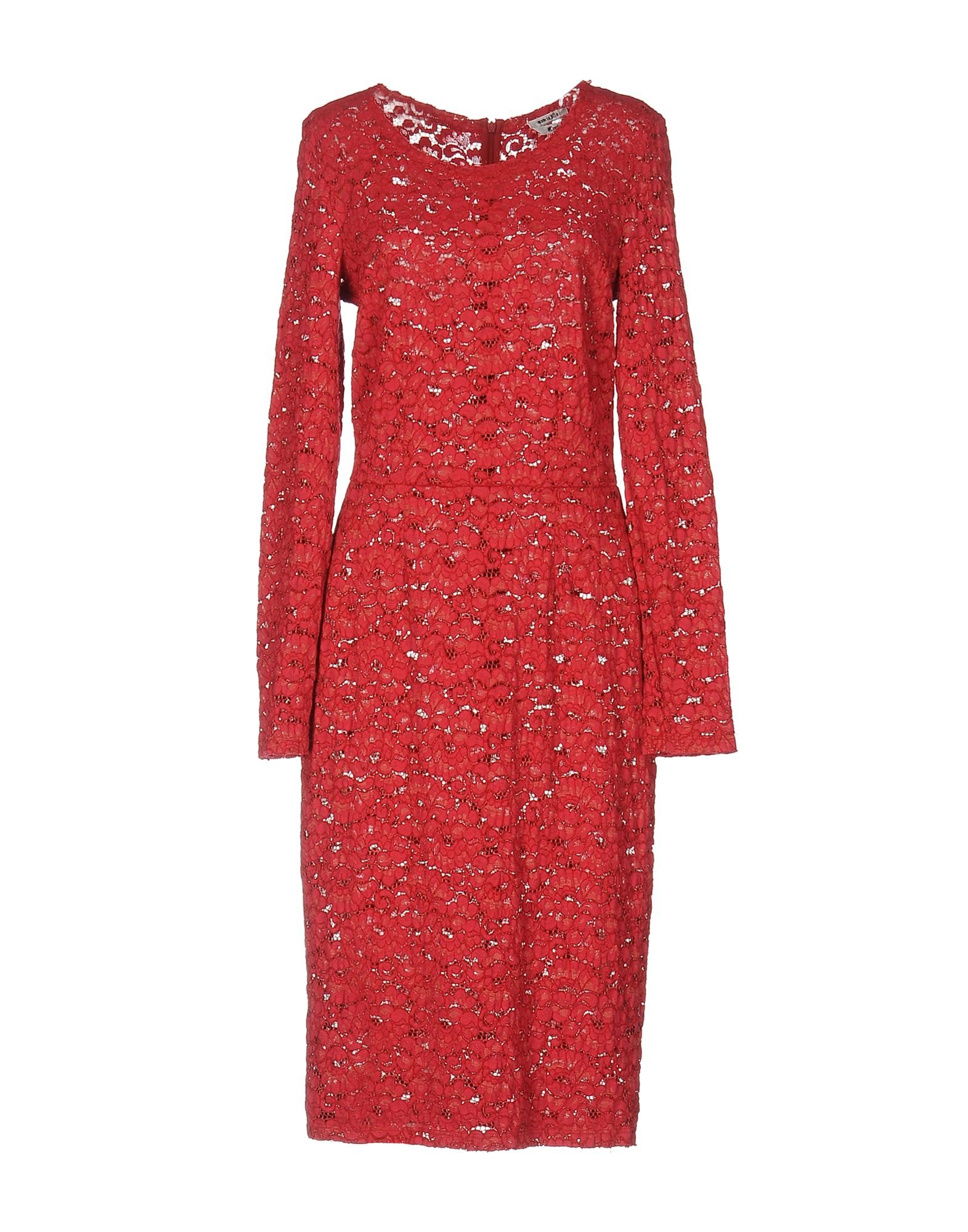 CYCLE Knee-Length Dress in Red