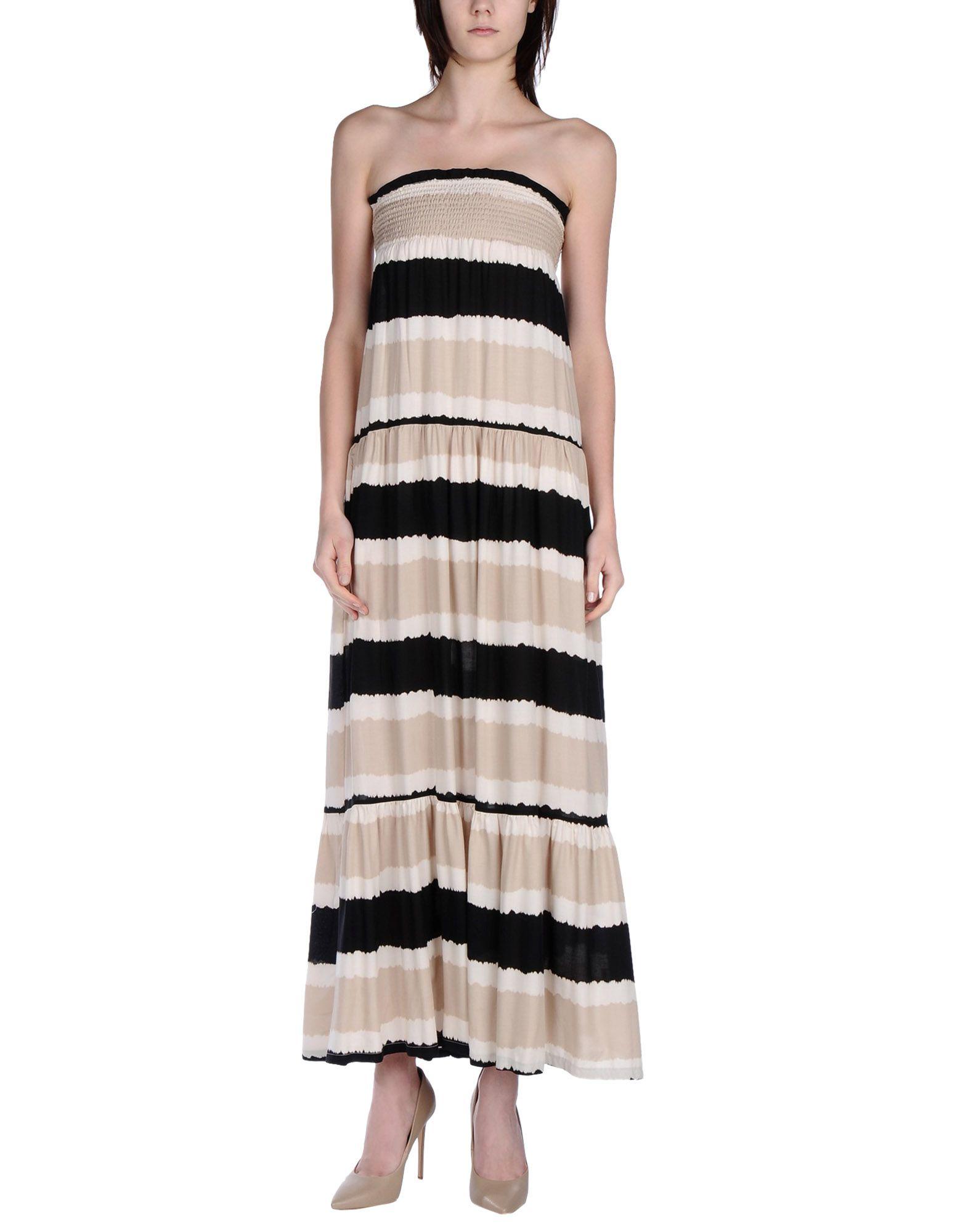 BONSUI Длинное платье bonsui короткое платье