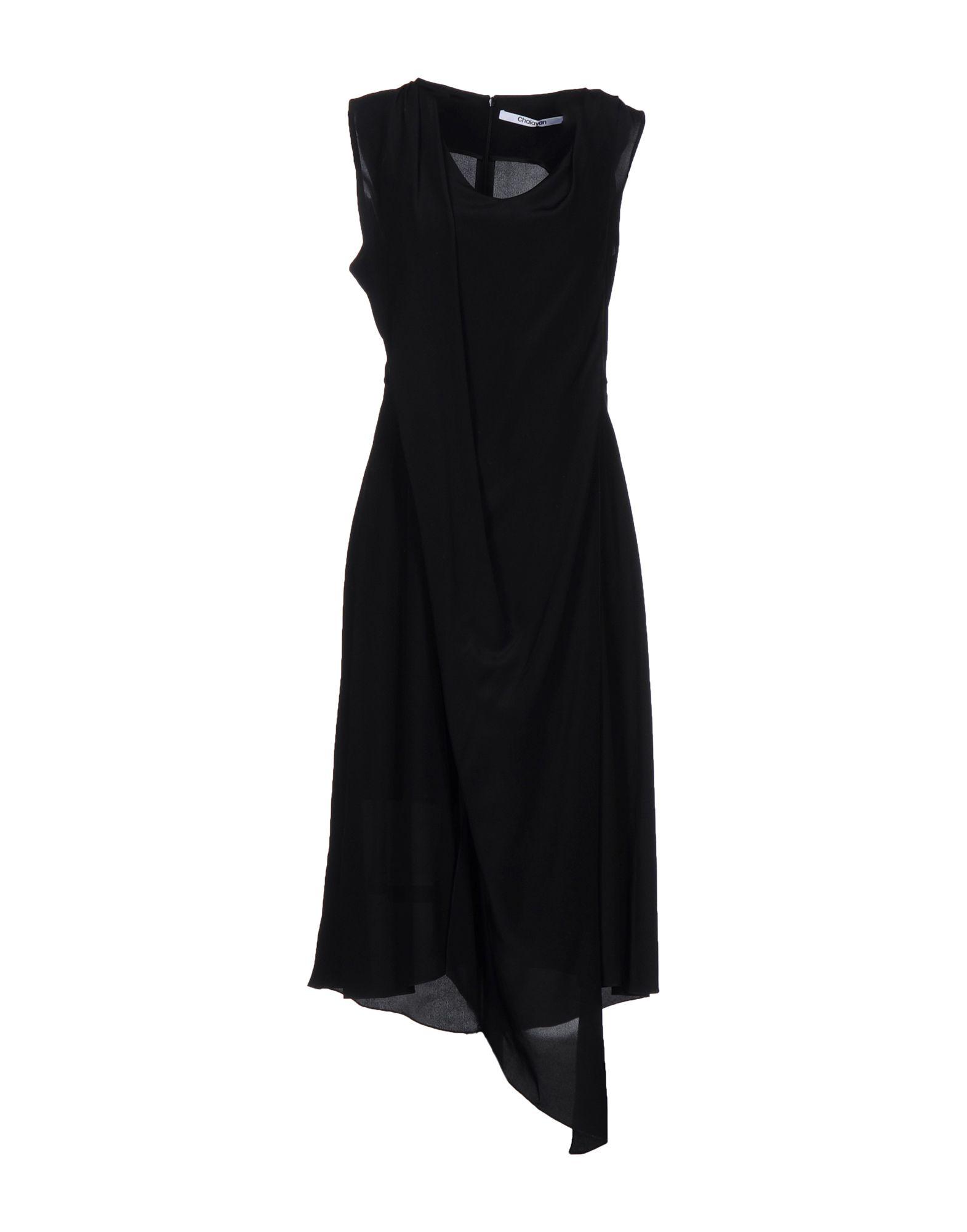 CHALAYAN Платье до колена chalayan платье до колена