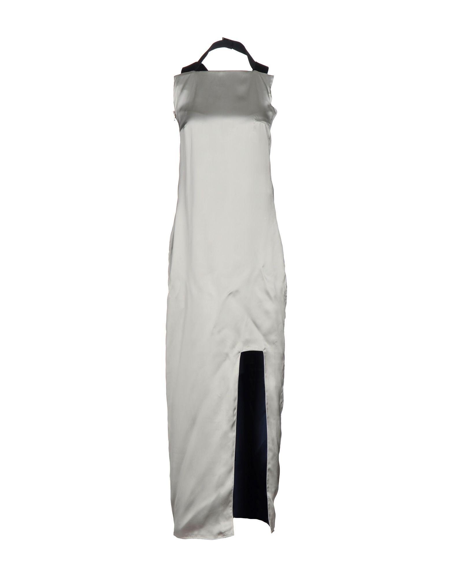цена ACNE STUDIOS Длинное платье