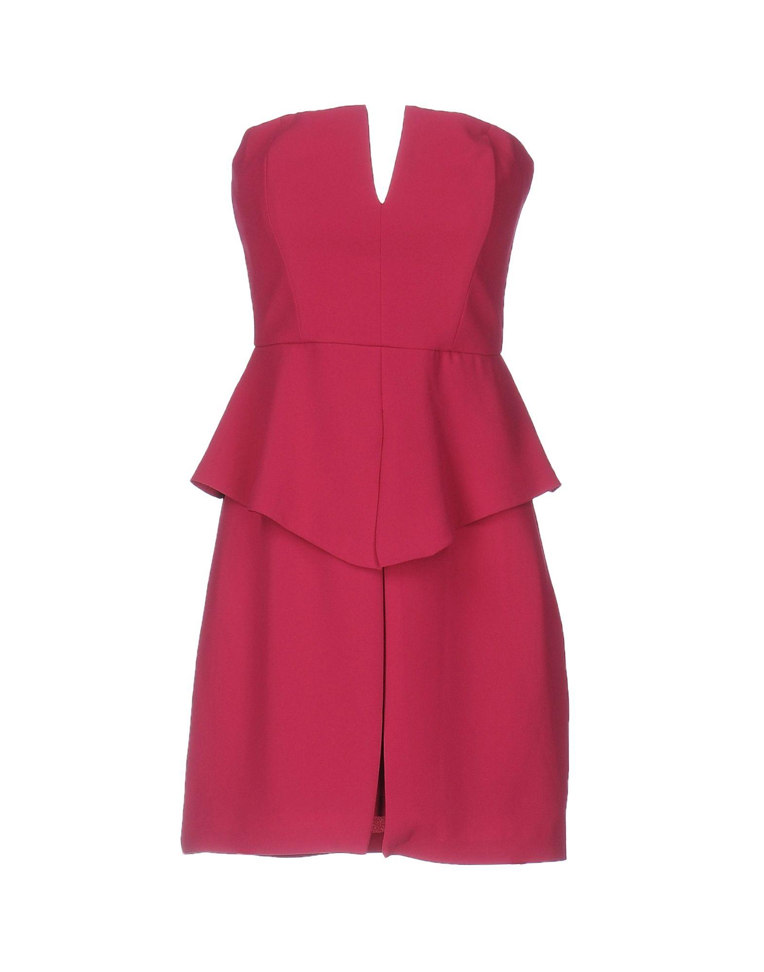 ANIYE BY Damen Kurzes Kleid Farbe Fuchsia Größe 6