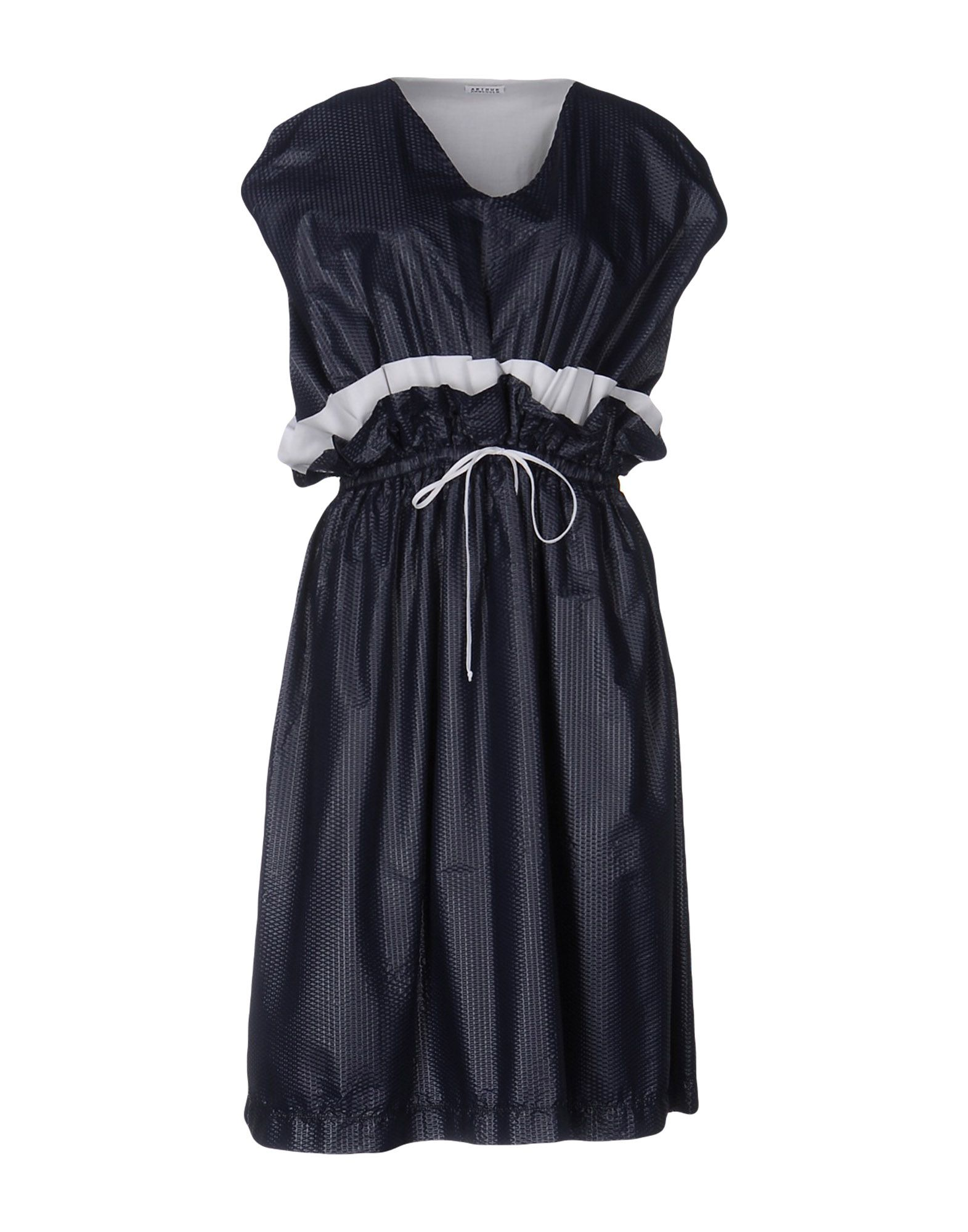 ARTHUR ARBESSER Midi Dress in Dark Blue