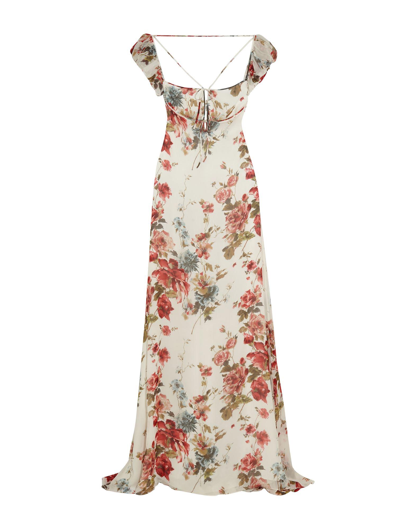 SAINT LAURENT Длинное платье