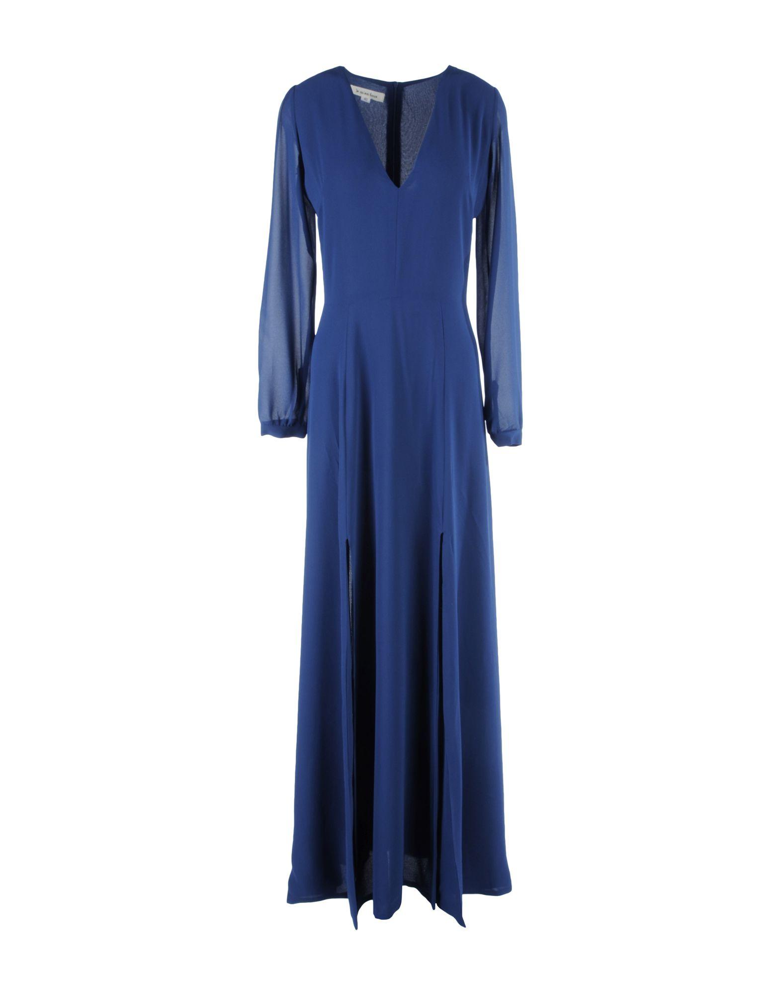 JE M'EN FOUS Длинное платье платье короткое спереди длинное сзади летнее