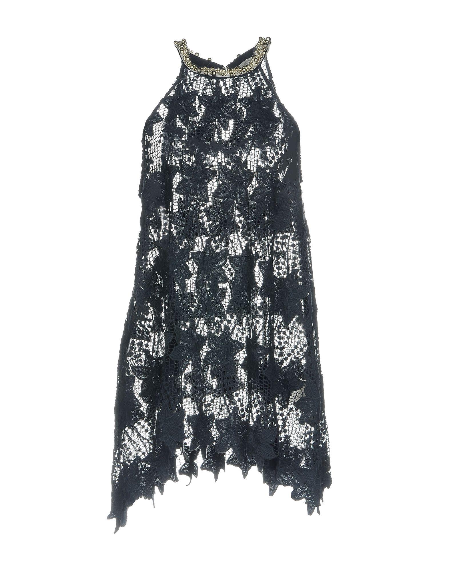 LE RAGAZZE DI ST. BARTH Короткое платье le ragazze di st barth мини юбка