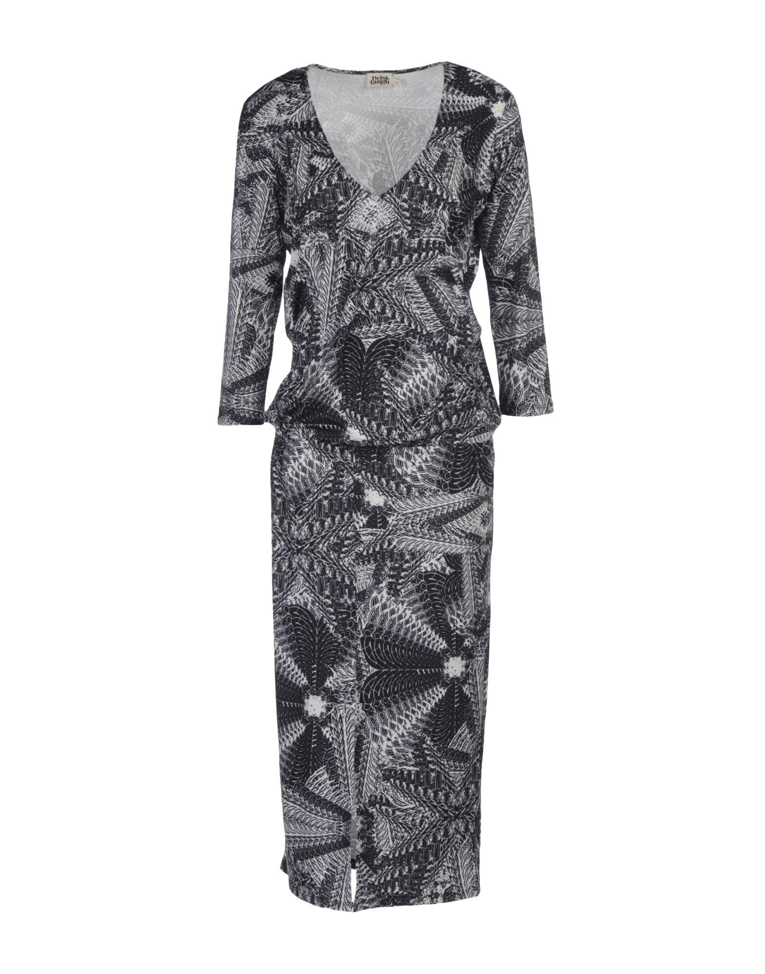 TWIST & TANGO Платье длиной 3/4 lisa corti платье длиной 3 4