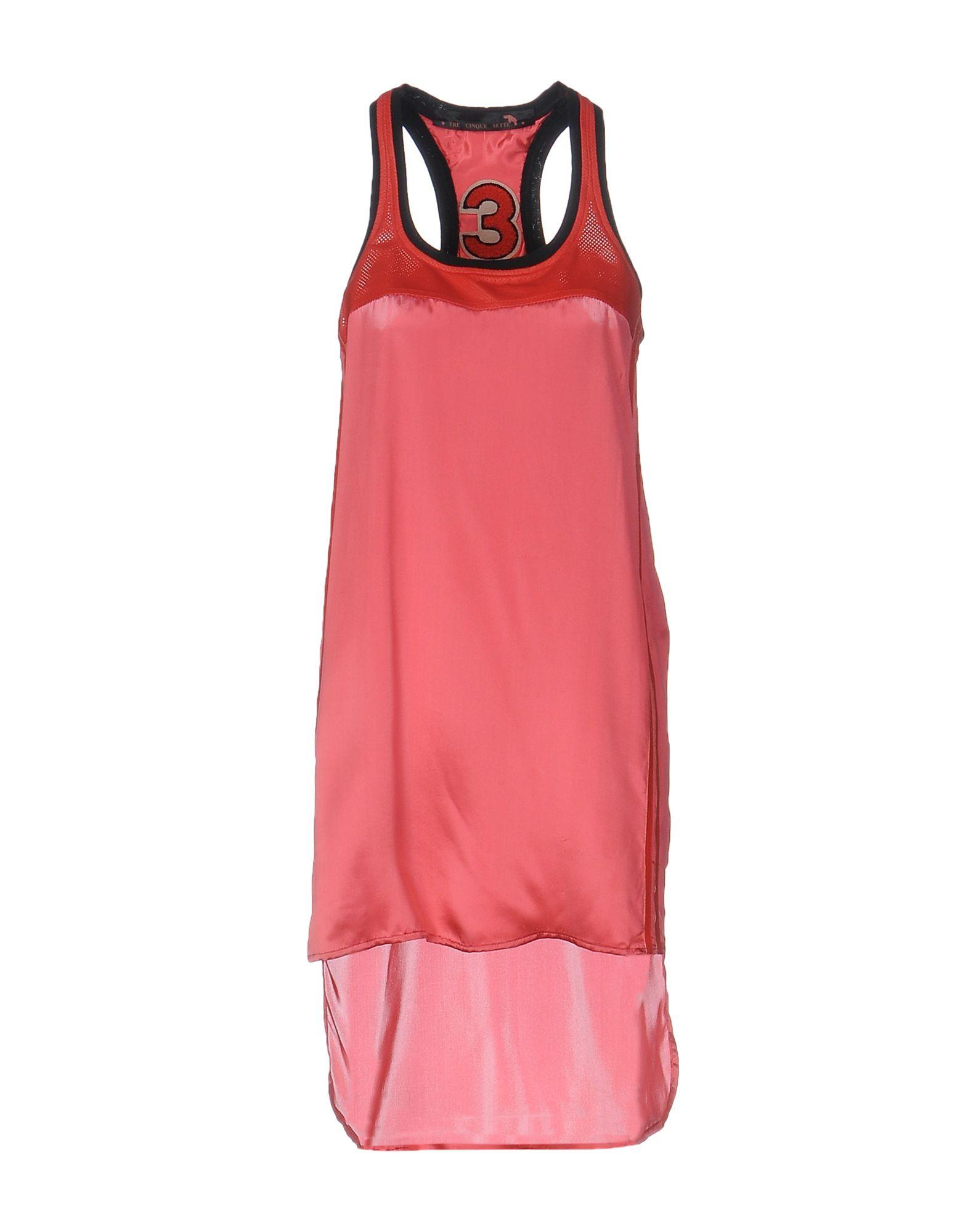 TRE CINQUE SETTE Короткое платье cinque
