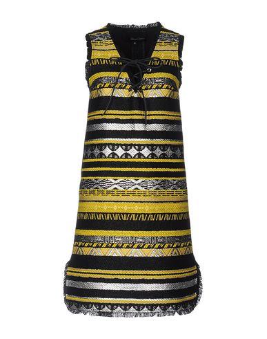 Купить Женское короткое платье SIMONA CORSELLINI желтого цвета