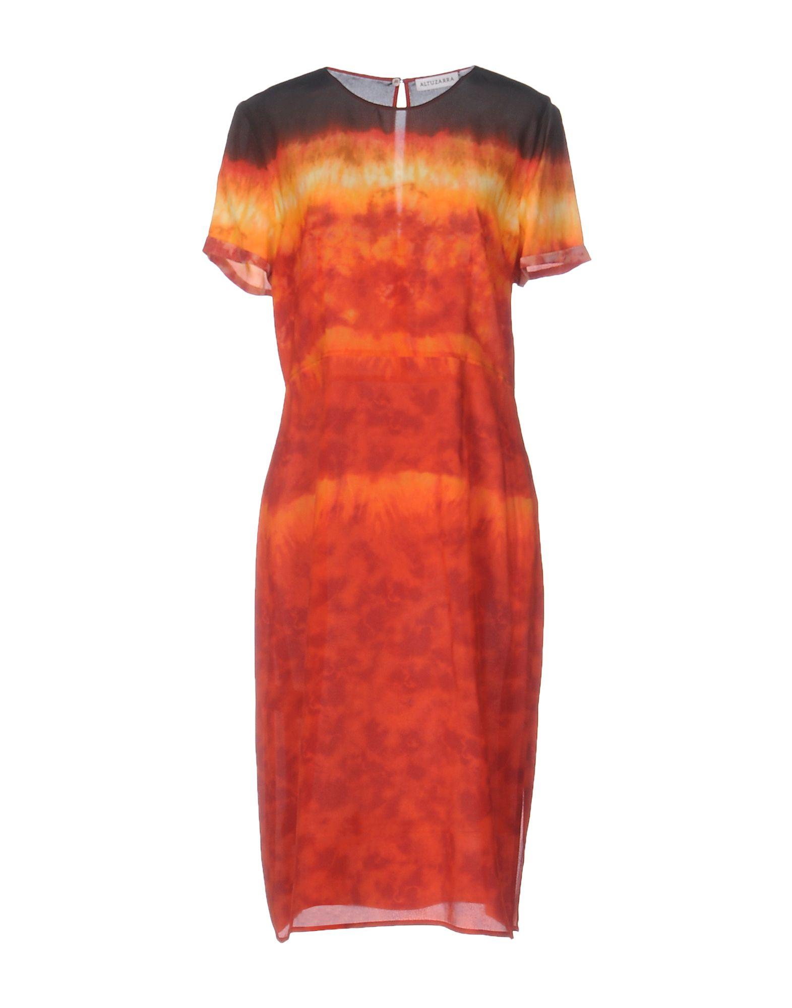 ALTUZARRA Платье до колена altuzarra кожаные сапоги