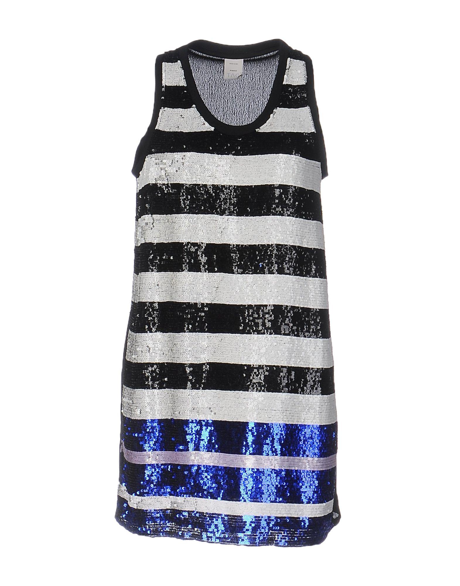 цены на PINKO TAG Короткое платье в интернет-магазинах