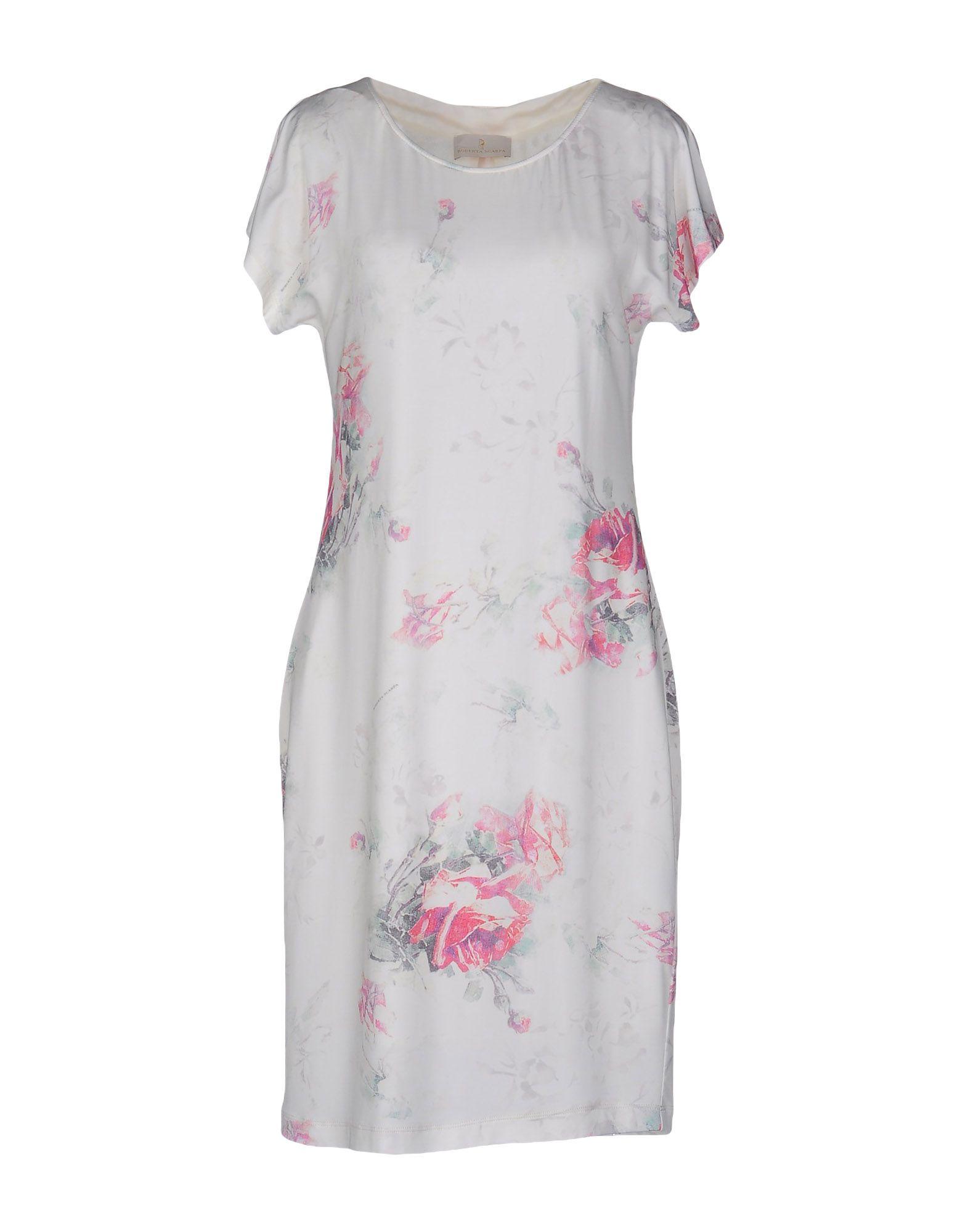 купить ROBERTA SCARPA Платье до колена по цене 4400 рублей