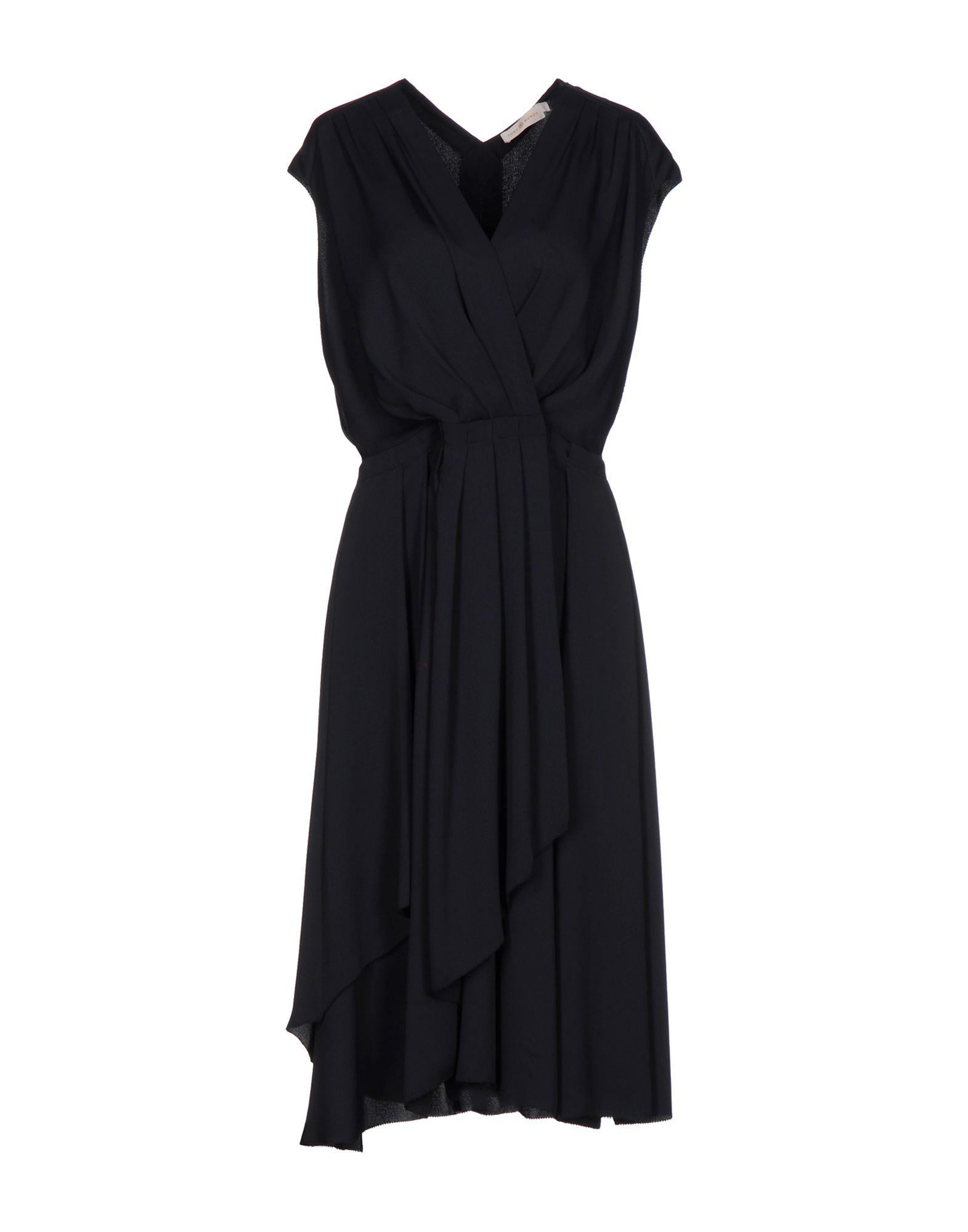 TORY BURCH Платье до колена цена 2017