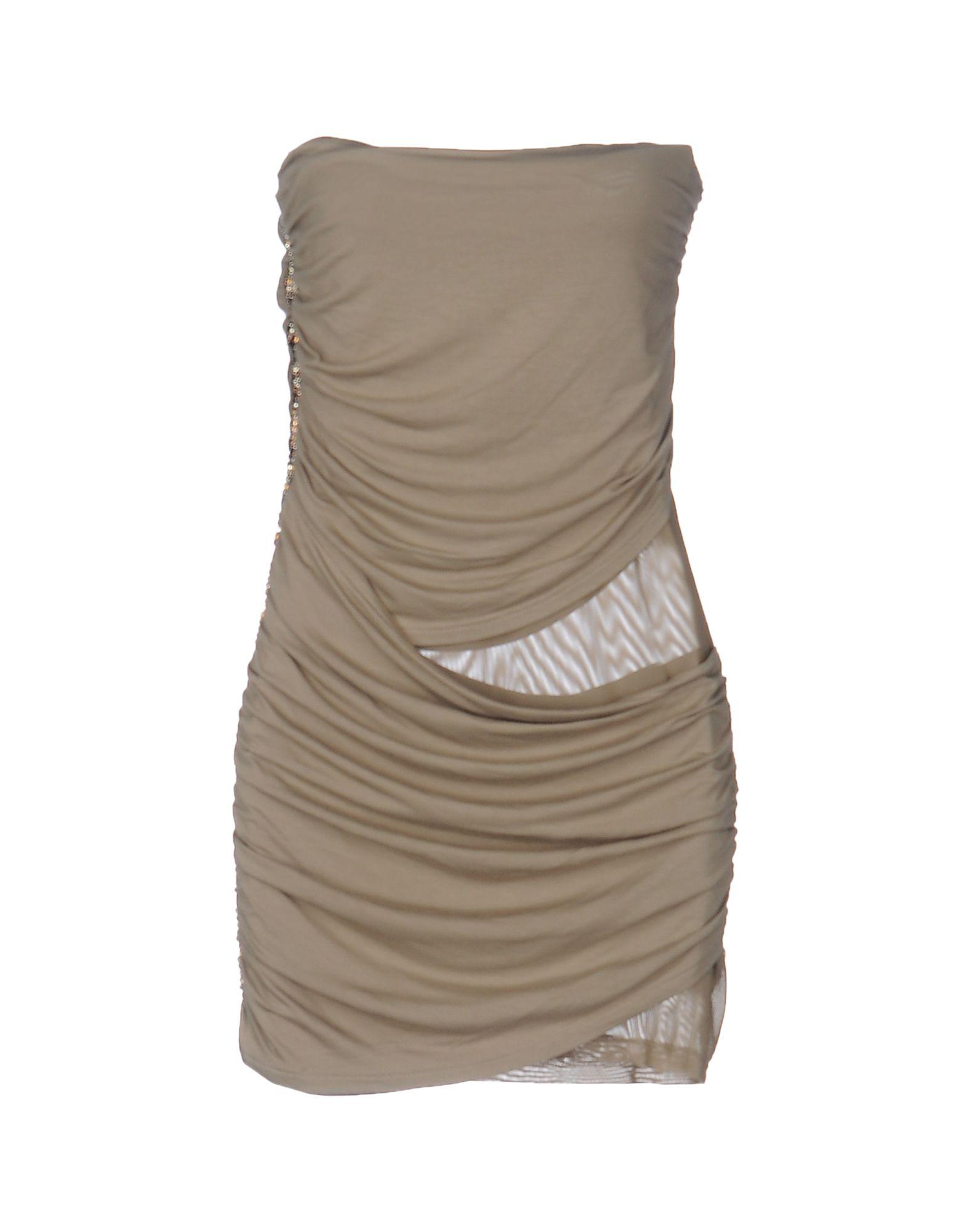 MET MIAMI COCKTAIL Damen Kurzes Kleid Farbe Khaki Größe 5