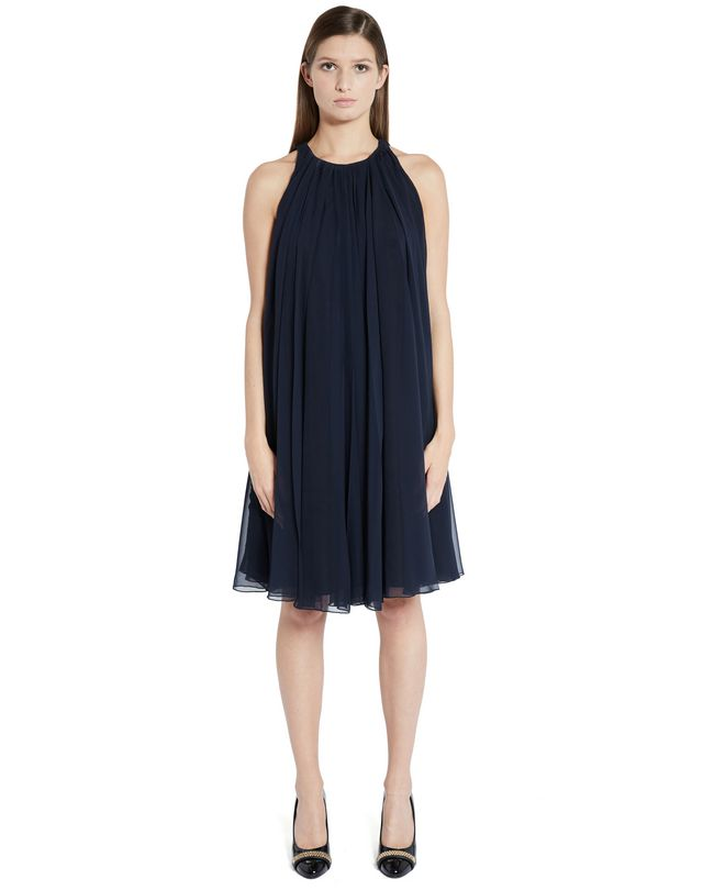 LANVIN SILK CHIFFON DRESS Dress D f
