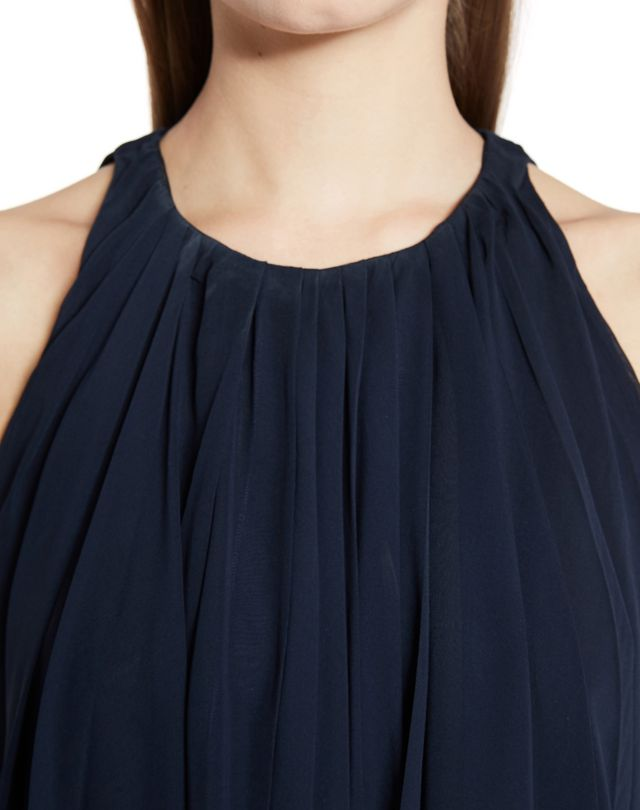 LANVIN SILK CHIFFON DRESS Dress D r