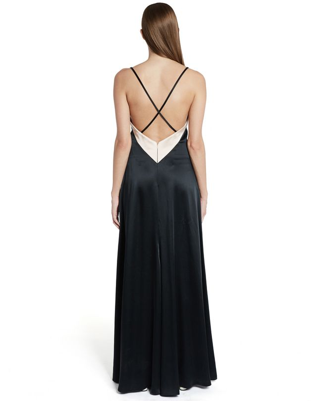 LANVIN LONG SATIN DRESS Long dress D e