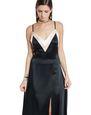LANVIN Long dress Woman LONG SATIN DRESS f